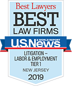 Best Lawyers: Litigation Labor & Employment 2019 by U.S News