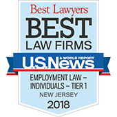 Best Lawyers: Employment Law 2018 by U.S News