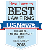 Best Lawyers: Litigation Labor & Employment 2018 by U.S News